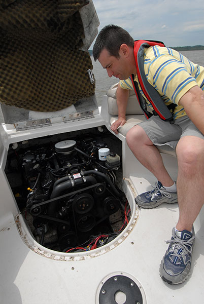 Boat Engine Trouble
