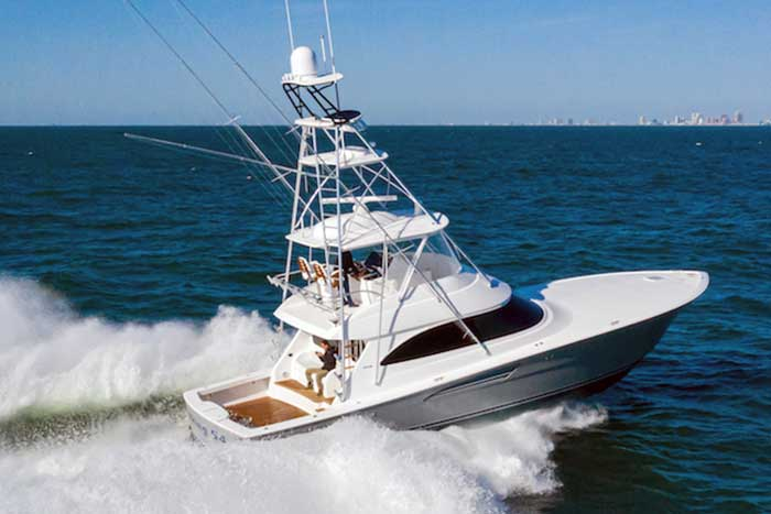 Viking 54 Convertible sportfishing boat