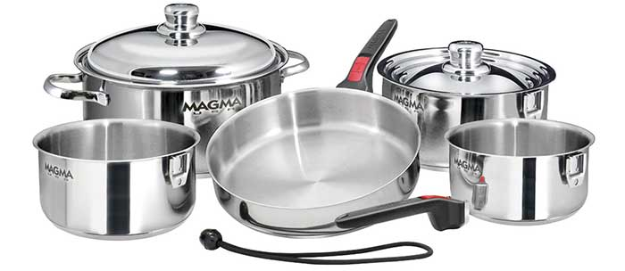 Magma 10-piece pots and pans set
